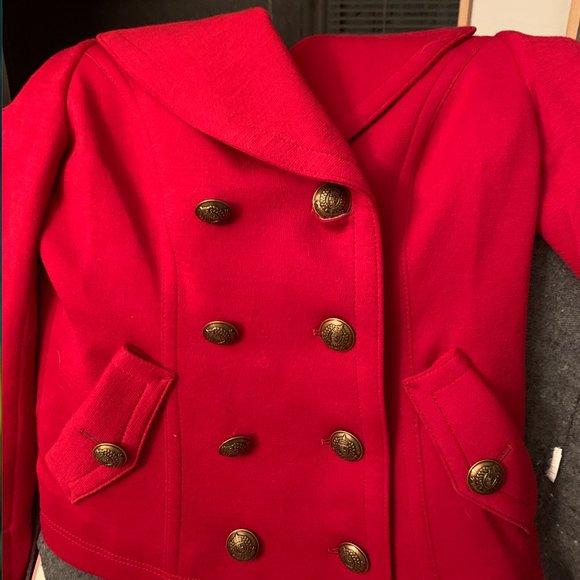 Burberry blue label coat